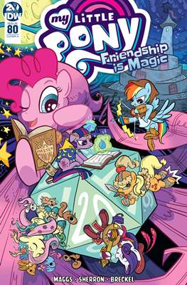 My Little Pony: Friendship Is Magic (Comic-Book) #80