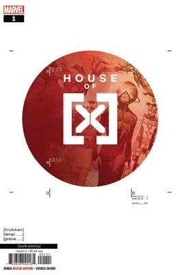 House of X (Variant Covers) (Comic Book) #1.99