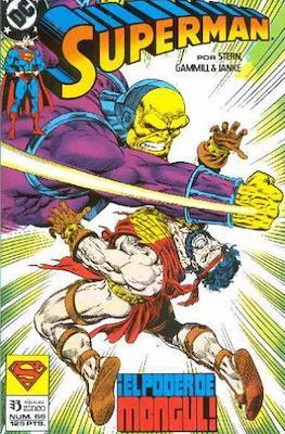 Superman Vol. 2 (1987-1993). El hombre de acero / Superman (Grapa 36 pp) #68