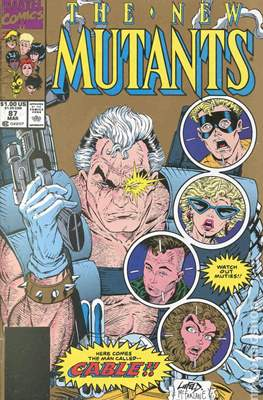 The New Mutants (1983-1991 Variant Cover)
