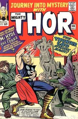 Journey into Mystery / Thor Vol 1 (Comic Book) #106