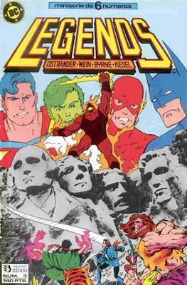 Legends (1987-1988) (Grapa 36 pp) #3