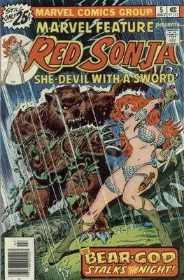 Marvel Feature presents Red Sonja (Comic Book) #5
