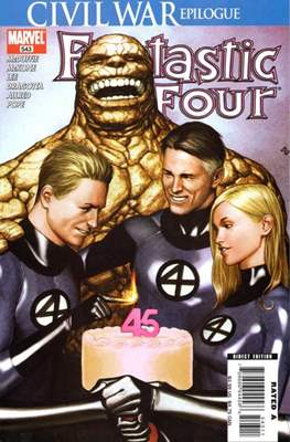 Fantastic Four Vol. 3 (Comic Book) #543