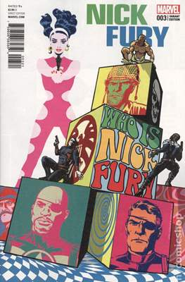 Nick Fury (Variant Cover) (Comic Book 28 pp) #3