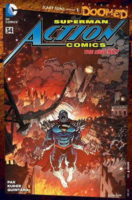 Action Comics Vol. 2 (2011-2016) (Grapa) #34