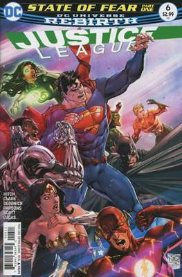 Justice League Vol. 3 (2016-2018) (Comic-book) #6