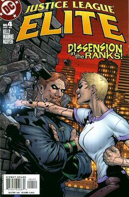 Justice League Elite (2004-2005) (Comic Book) #4