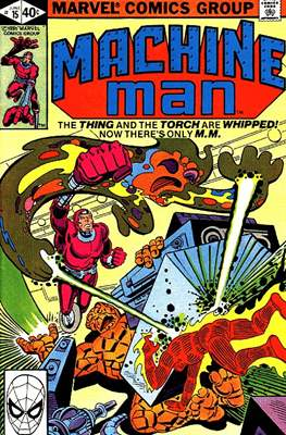 Machine Man Vol. 1 (Comic Book) #15