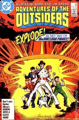 Batman and the Outsiders (1983-1987) (Comic Book) #40