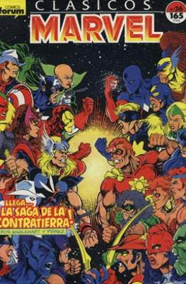 Clásicos Marvel (1988-1991) (Grapa.) #26