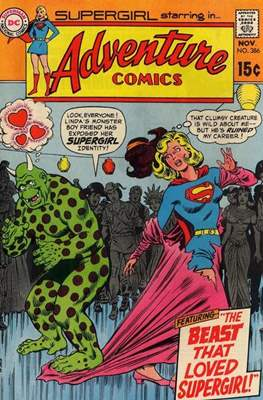New Comics / New Adventure Comics / Adventure Comics (1935-1983; 2009-2011) (Saddle-Stitched) #386