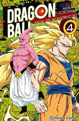 Dragon Ball Color: Saga del Monstruo Bû (Rústica con sobrecubierta) #4
