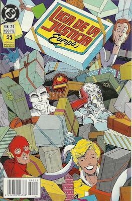 Liga de la Justicia Europa (1989-1992) (Grapa) #21