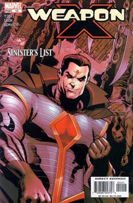 Weapon X Vol. 2 (2002-2004) (Comic Book) #14