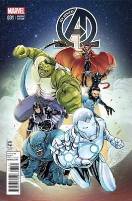 New Avengers Vol. 3 (2013 -2015 Variant Covers) (Comic Book) #31