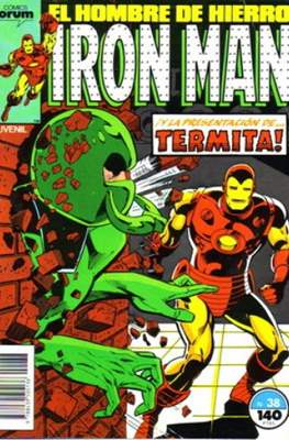 Iron Man Vol. 1 / Marvel Two-in-One: Iron Man & Capitán Marvel (1985-1991) (Grapa, 36-64 pp) #38