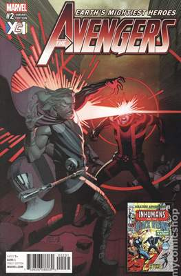 The Avengers Vol. 7 (2016-...Variant Covers ) (Grapa) #2.3