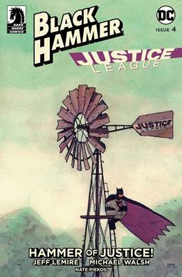 Black Hammer / Justice League: Hammer of Justice (Variant Cover) (Comic Book) #4.2