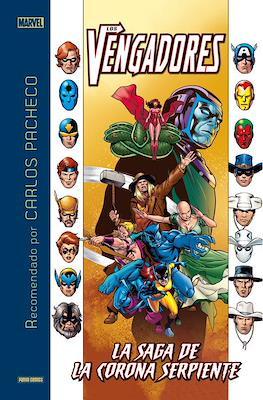 Marvel Recomendado por Carlos Pacheco Los Vengadores: La saga de la Corona Serpiente (Cartoné 144 pp) #