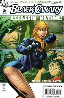 Black Canary (2007) (saddle-stitched) #2