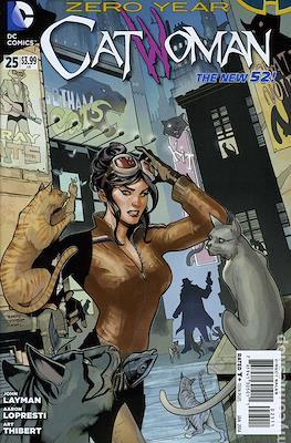 Catwoman Vol. 4 (2011-2016) New 52 (Comic Book) #25
