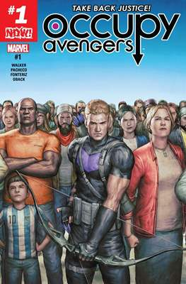 Occupy Avengers (2016-2017) (Comic-book) #1