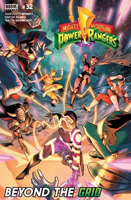 Mighty Morphin Power Rangers (Comic Book) #32