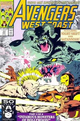 West Coast Avengers Vol. 2 (Comic-book. 1985 -1989) #77