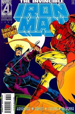 Iron Man Vol. 1 (1968-1996) (Comic book) #323
