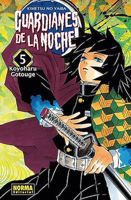 Guardianes de la noche (Kimetsu no Yaiba) (Rústica) #5