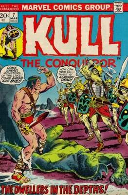 Kull the Conqueror / Kull the Destroyer (1971-1978) #7