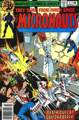 The Micronauts Vol.1 (1979-1984) (Comic Book 32 pp) #3
