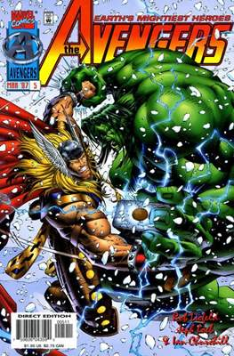 The Avengers Vol. 2 Heroes Reborn (1996-1997) (Comic Book) #5