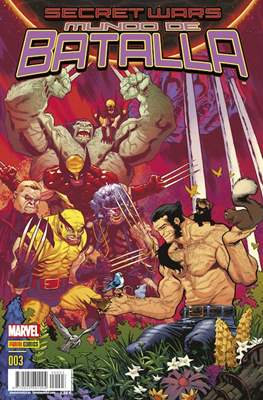 Secret Wars: Mundo de Batalla (2015-2016) (Grapa 48 pp) #3