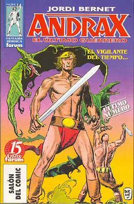 Andrax, el ultimo guerrero (Grapa.) #14