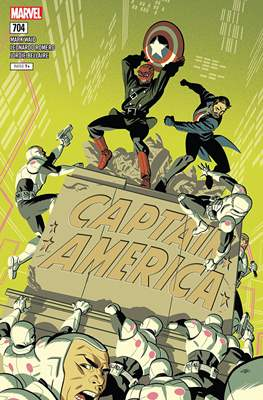 Captain America Vol. 8 (2017-2018) (Comic Book) #704