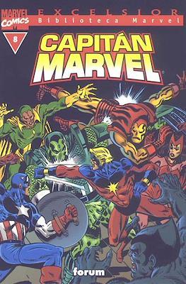 Biblioteca Marvel: Capitán Marvel (2002) (Rústica 160 pp) #8