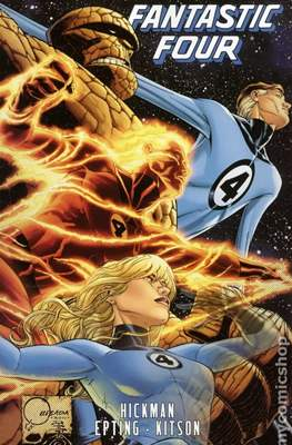 Fantastic Four by Jonathan Hickman (Softcover) #5