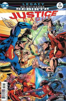 Justice League Vol. 3 (2016-2018) (Comic-book) #27