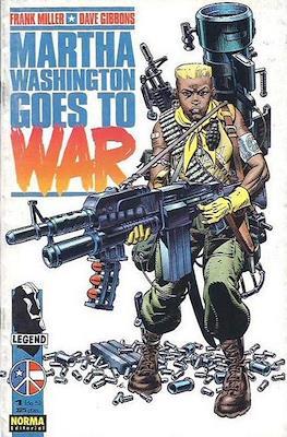 Martha Washington Goes to War (Grapa 32 pp) #1