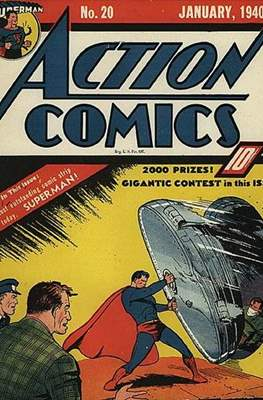 Action Comics Vol. 1 (1938-2011; 2016-) (Comic Book) #20