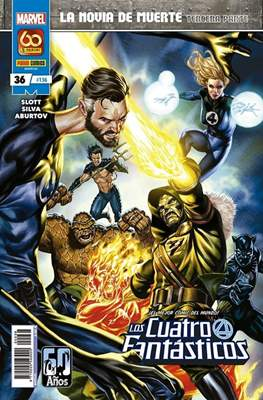 Los 4 Fantásticos / Los Cuatro Fantásticos Vol. 7 (2008-) (Grapa 24-48 pp) #136/36