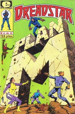 Dreadstar Vol. 1 (Grapa. 17x26. Color. (1985).) #6