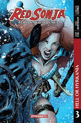 Red Sonja: Worlds Away (2017) (Softcover 140-184 pp) #3