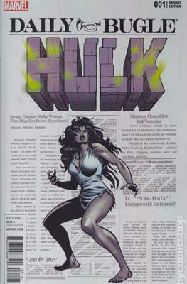 Hulk Vol. 4 (2016-2017 Variant Covers) #1.4