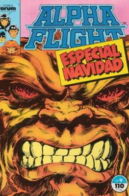 Alpha Flight Vol. 1 / Marvel Two-in-one: Alpha Flight & La Masa Vol.1 (1985-1992) (Grapa 32-64 pp) #9