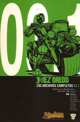 El Juez Dredd: Los Archivos Completos #7