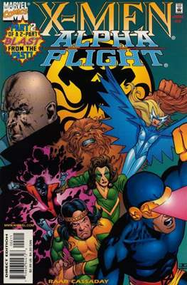X-Men / Alpha Flight: Blast From the Past! (1998) (Grapa) #2