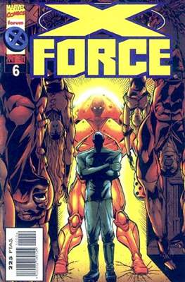 X-Force Vol. 2 (1996-2000) (Grapa 24 pp) #6
